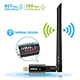 Aoyool WiFi Adapter 1200Mbit/s...