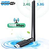 WLAN Stick, USB WiFi Adapter, WLAN Adapter USB 3.0...
