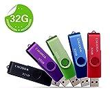 5 Stück 32GB USB Stick ENUODA Speicherstick...