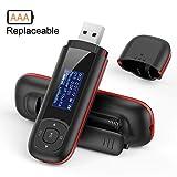 AGPTEK 8GB Tragbare USB MP3 Player 1 Zoll LCD...
