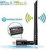 Aoyool WiFi Adapter 1200Mbit/s...