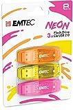 Emtec USB-Stick C410, 8 GB, Lesegeschwindigkeit 5...