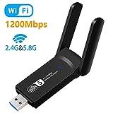 Aigital WLAN Adapter,USB WiFi Stick 1200Mbit/s...
