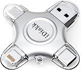 iDiskk MFi-zertifizierter 256GB USB Stick iPhone...