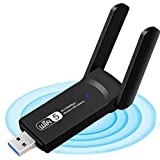 WLAN Adapter, WiFi Stick 1200Mbps Dual Band 2.4GHz...