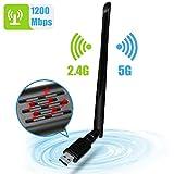 WLAN Stick, NINECY 1200Mbit/s Dualband...