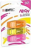 Emtec USB-Stick C410, 32 GB, Lesegeschwindigkeit 5...