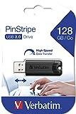 Verbatim PinStripe USB-Stick - 128 GB - High-Speed...