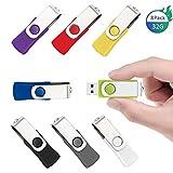 SUNWORLD 5 Bunt 8GB USB Stick Speicherstick 2.0...