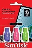 SanDisk 32GB Cruzer Blade USB-Flash-Laufwerk...