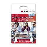AgfaPhoto USB 3.0 2in1 64GB USB-TypeC