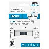 XLYNE PRO OTG 32 GB USB 3.0 Stick für PC (USB)...
