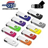 USB Sticks 8GB 10 Stück, AreTop USB 2.0...