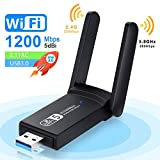 NEKAN WiFi-Adapter, USB 3.0 AC 1200Mbps...